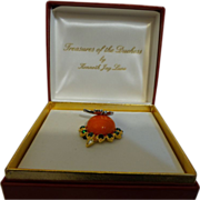 Vintage Signed KJL-Treasures of the Duchess Brooch