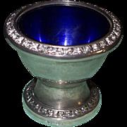 Vintage English Electroplated IANTHE Eggcup