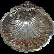 Vintage W S Blackinton Silverplate Scallop Shell Dish