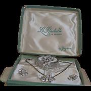 Vintage LaRachelle Fifth Avenue Parure in Original Box
