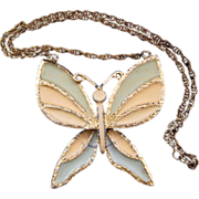 D&E aka Juliana Huge Butterfly Necklace - Book Reference