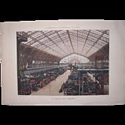 Lot 3 Large 1889 Paris Exposition Chomotypogravures