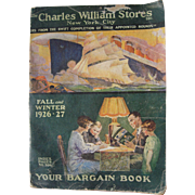 Large 1926/27 Advertising Catalog Charles William Stores New York City