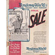 1920 Montgomery Ward Catalog