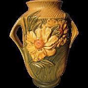 """Roseville Pottery Vase """"Peony"""""""