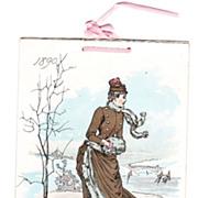 1890 Advertising Calendar for Ivory Soap