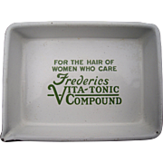 1920s Advertising Tray Frederics Vita Tonic
