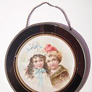 Victorian Era Flue Cover 2 Children