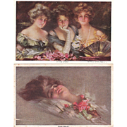 Lot of 8 Boileau Postcards #2