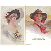 Lot of 7 Boileau Postcards #3