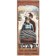 c1880s White Swan Soap Trade Card