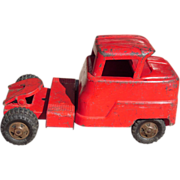 1950s Red Structo Toy Truck