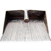 c Early 1900s Metal Flax Comb/Cranberry Rake