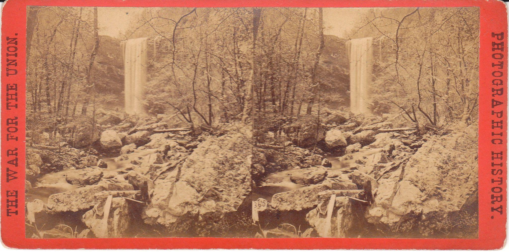Civil War Stereoview Lookout Mountain Tn From