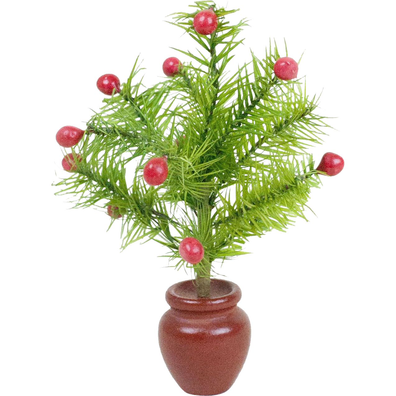1920s German Christmas Feather Tree with Wooden Base 7