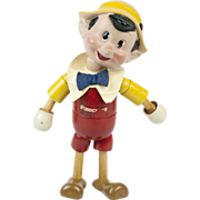 1940s Ideal Toys Jointed Composition Pinocchio Doll