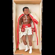 Rare Effanbee 1986 Muhammad Ali Doll in the Box MINT!