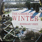"SALE Signed Rosemary Verey ""The Garden in Winter"" 1st US Edition"