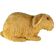 Early mohair German Steiff like rabbit, c. 1920