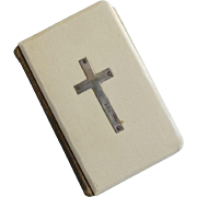 English Book of Common Prayer - Ivorine Celluloid and Leather