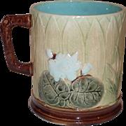 Holdcroft Majolica Pond Lily Mug