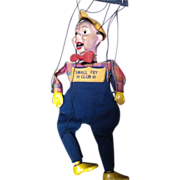Small Fry Club Boy Composition Marionette Puppet