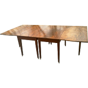 Federal Mahogany Hepplewhite Banquet Dining Table