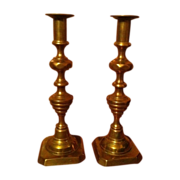 11 inch Pair Push-Up Candlesticks