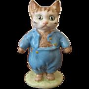 Beswick Beatrix Potter Figurine Tom Kitten