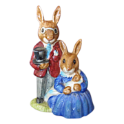 Royal Doulton Bunnykins Family Photograph, DB1