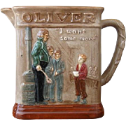 Royal Doulton Dickens Seriesware Oliver Asks For More Pitcher