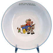 """SALE Shelley Mabel L Attwell Bowl """"Lift to Fairyland"""" Boo Boos"""
