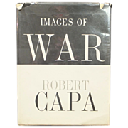 REDUCED Images Of War  Robert Capa  ORIGINAL 1964 1st Edition - Vietnam, Spain, Italy, China