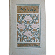 SALE Antique 1910 Poems Mary Baker Eddy Christian Science Hardcover