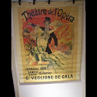 Jules Cheret Original Poster 1896