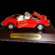 SALE Avon Classic Car Collection 1950's Sport Convertible - Corvette