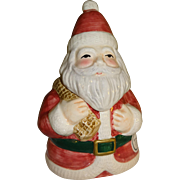 SALE Fitz and Floyd Santa Two Piece Salt and Pepper Shaker Set