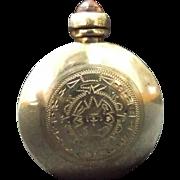 Miniature Vintage Sterling Silver Perfume Bottle