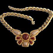 SALE Vintage Avon Faux Stone Necklace