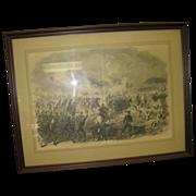 Civil War Engraving Harper's Weekly
