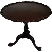 19th Century Chippendale Style Tilt-top Table