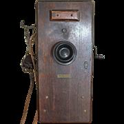 SOLD Vintage Western Electric Railway Phone