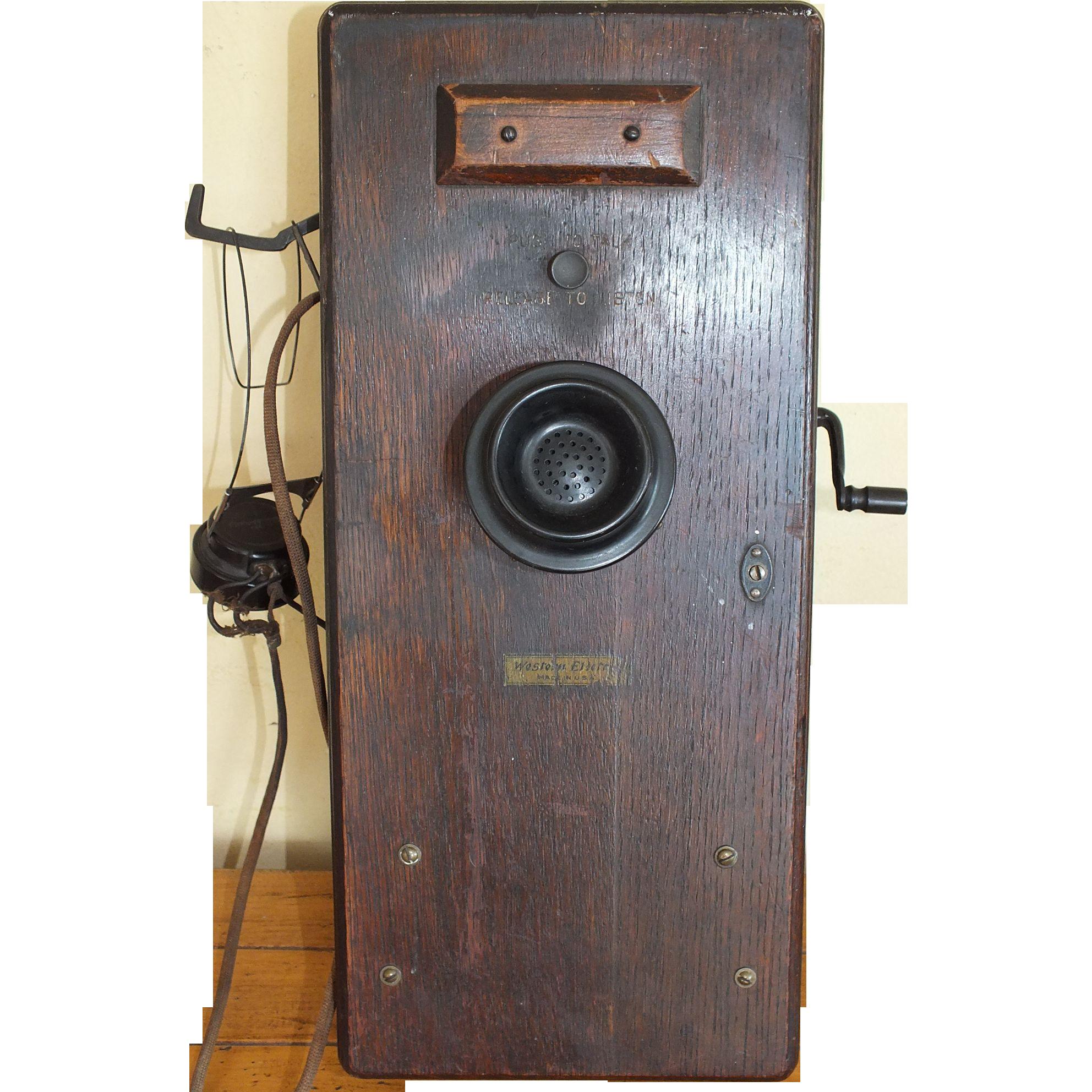Vintage Western Electric Phone 84