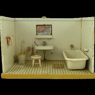 Marklin Dolls House Miniature Bathroom