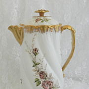 SOLD Limoges Chocolate Pot