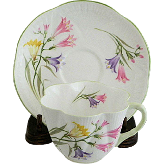 Shelley Dainty Freesia Cup and Saucer