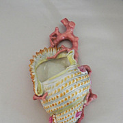 SOLD Very Rare Royal Worcester 1870's Wall Pocket
