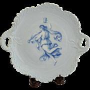 Rosenthal Copenhagen Portrait Cake Plate