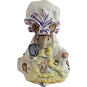 Beswick Beatrix Potter - Lady Mouse, BP 1a Gold Circle