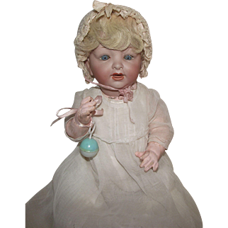 Absolutely Adorable Vintage German Bisque 152 Character Baby